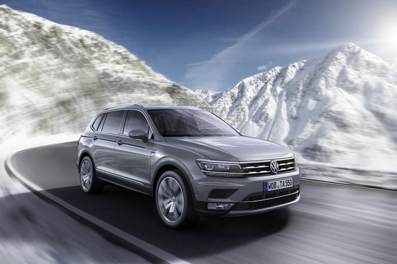 2018 Volkswagen Tiguan Allspace (EU)