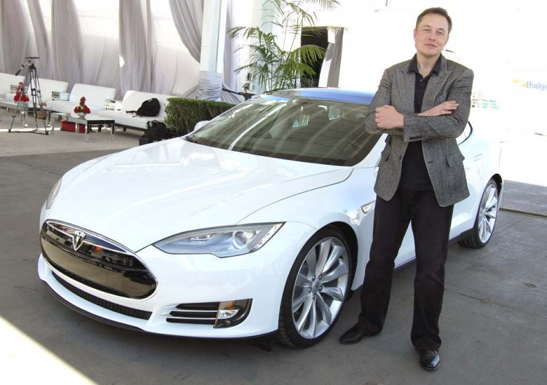 Илон Маск, глава Tesla Motors