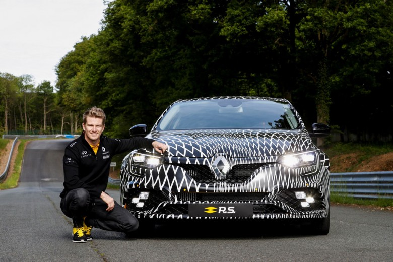 2018 Renault Megane R.S. и Нико Хюлькенберг