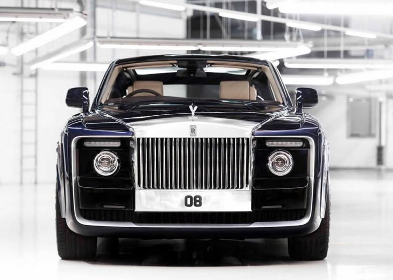 Роллс Ройс построил самый дорогой новый вариант автомобиля вмире