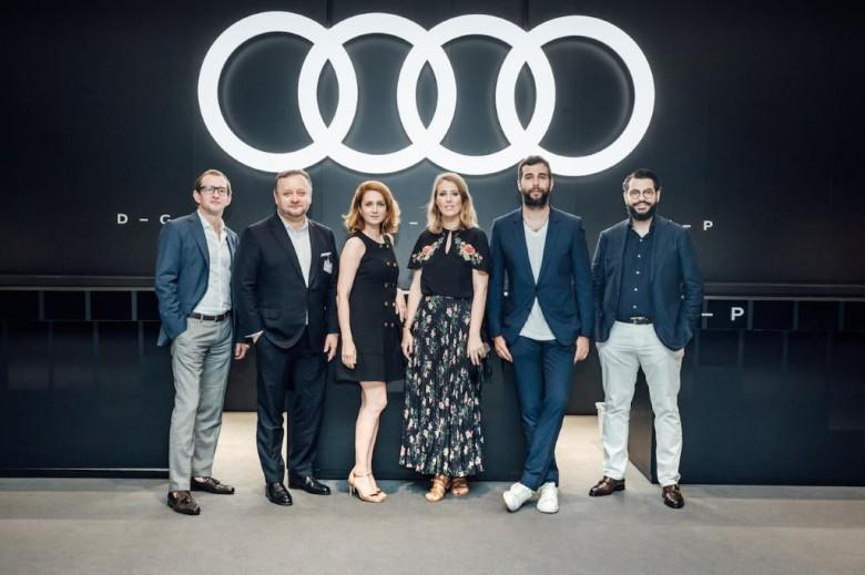 Ургант, Собчак, Исакова и другие - послы бренда Audi в России