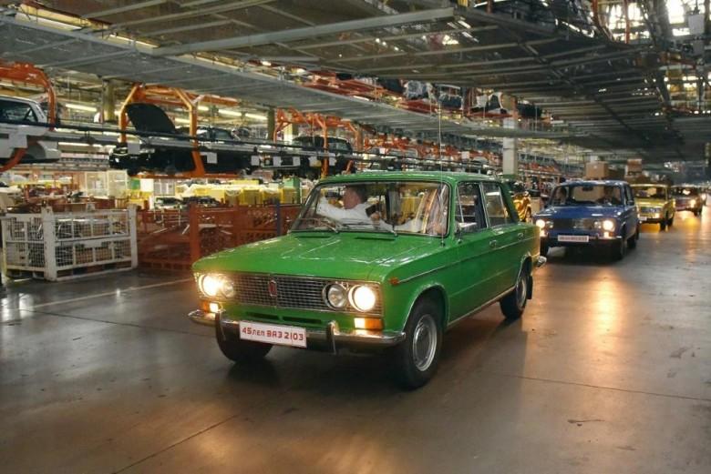 «АвтоВАЗ» отмечает 45-летие традиционной модели ВАЗ