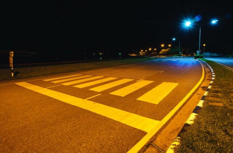 Практически  80 пешеходных переходов в столице  оборудуют подсветкой