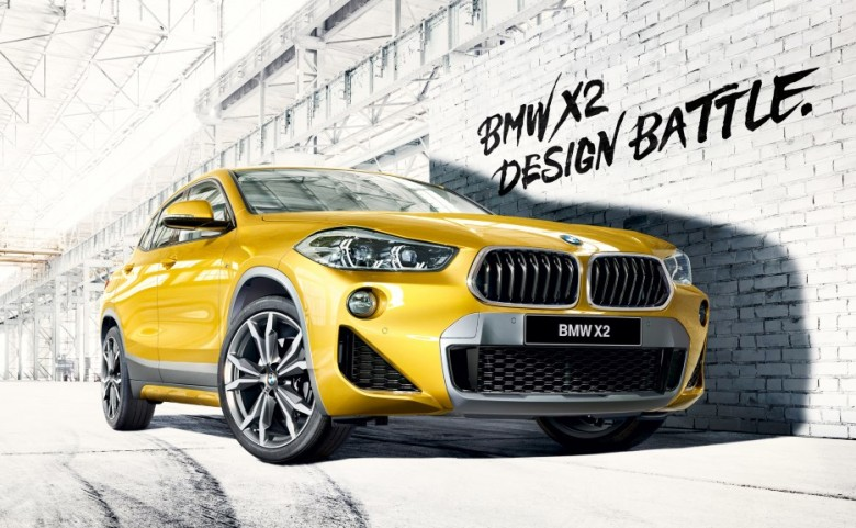BMW X2 Design Battle