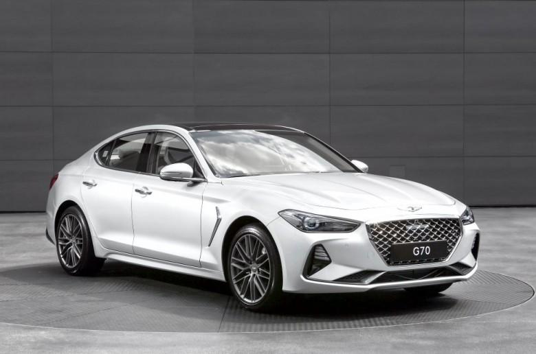 Genesis представит в Российской Федерации модель G70 через месяц