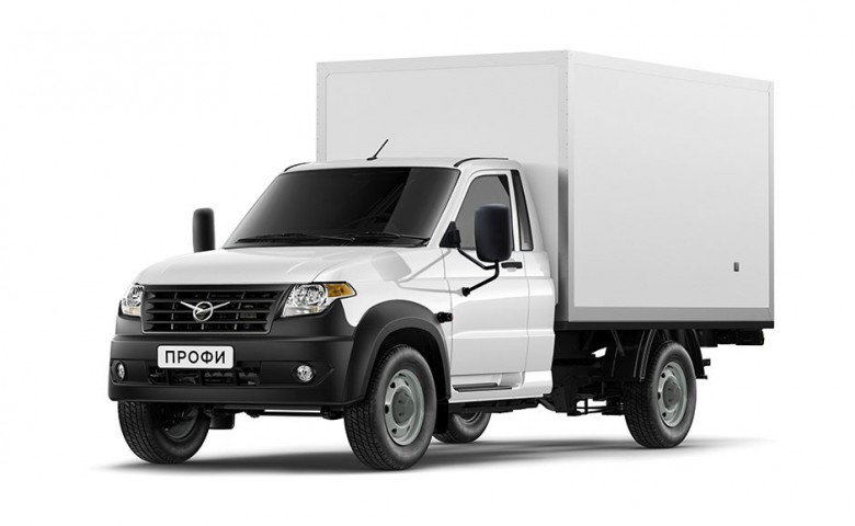 Промтоварный фургон УАЗ Профи