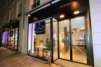 Nissan Electric Cafe, Париж