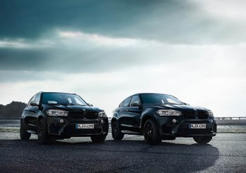 BMW X5 M и BMW X6 M в версии The Black Fire Edition