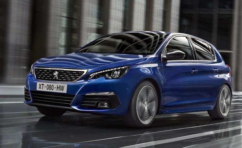 Peugeot (Пежо) показала первые фото улучшенного семейства 308