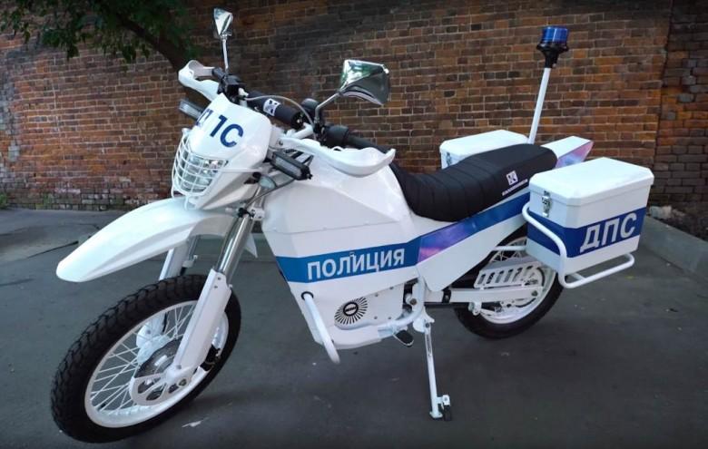 Электромотоцикл Иж концерна