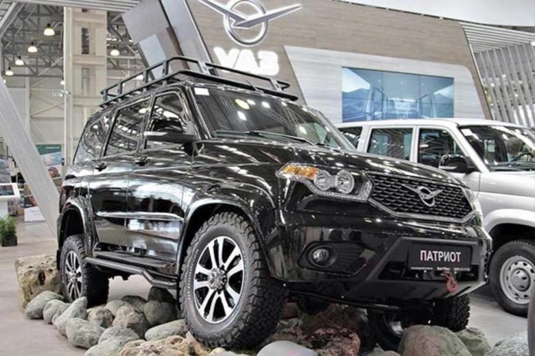 УАЗ подготовил вседорожный автомобиль «Патриот» ктяжелому бездорожью